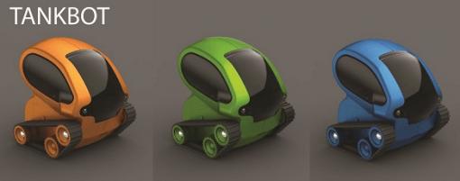 Spielzeug Tankbot mit iOS iPhone Steuerung 510x201