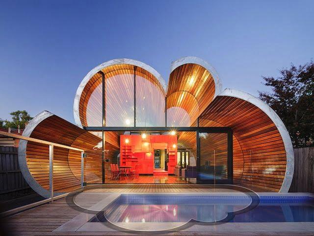 Apple Fan in Melbourne baut sich iCloud Haus