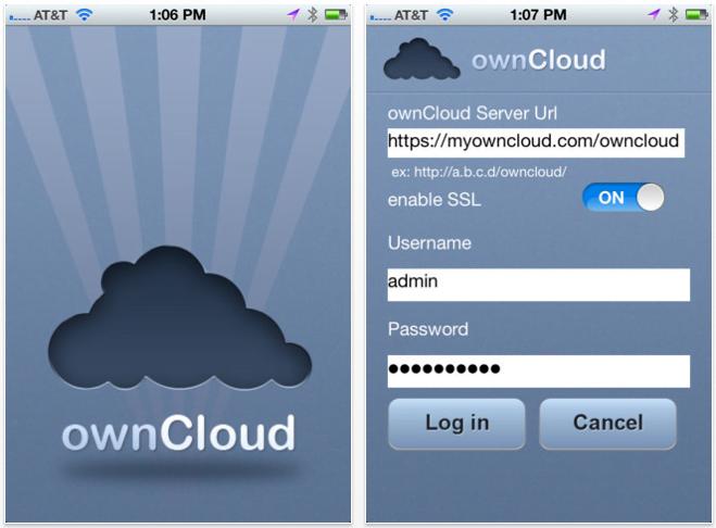 ownCloud veröffentlich App zur Nutzung auf iOS Devices