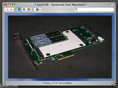 SSD RAID Controller Mac Pro