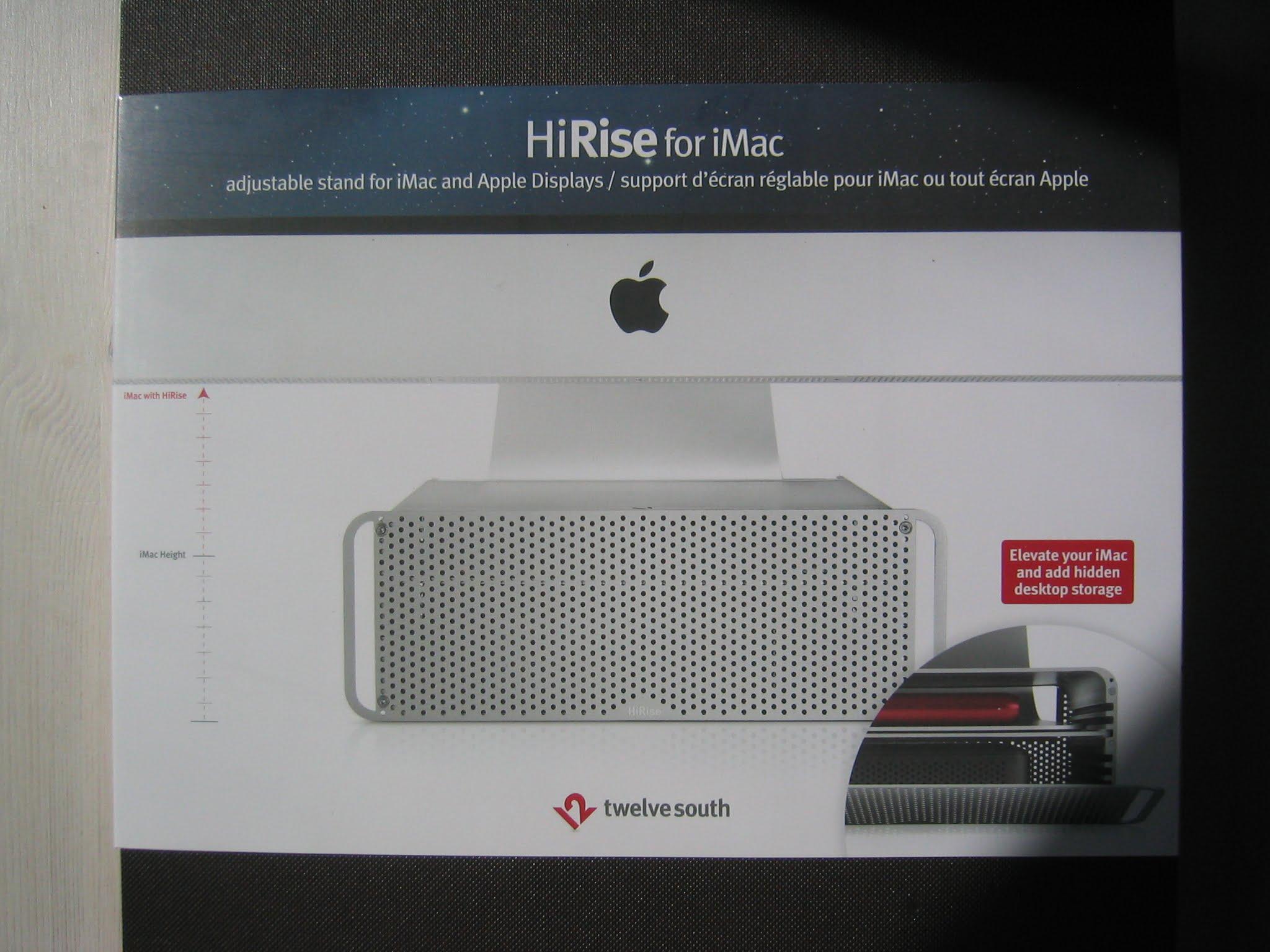 Review: TwelveSouth HiRise Stand für iMac und Thunderbolt Display im Test