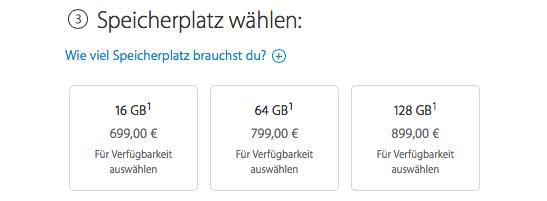 iPhone und iPad mit mehr Speicher: ist es wirklich so teuer?