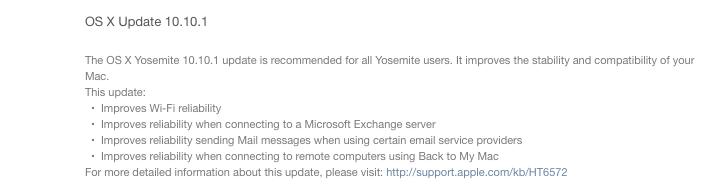Updates: Yosemite 10.10.1 und iOS 8.1.1 erschienen