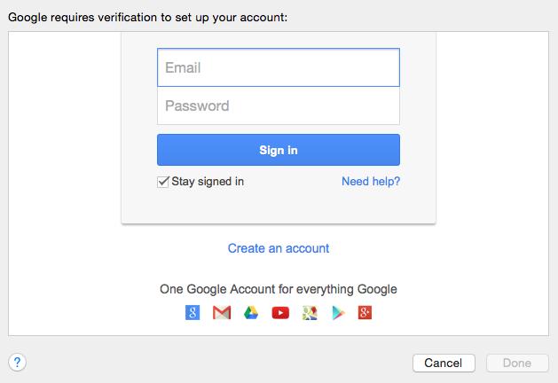 Apple Mail versteht sich nicht mit Gmail: Anmeldeversuch blockiert. Lösung: keine.