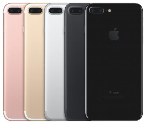 iPhone 7 Plus Farben