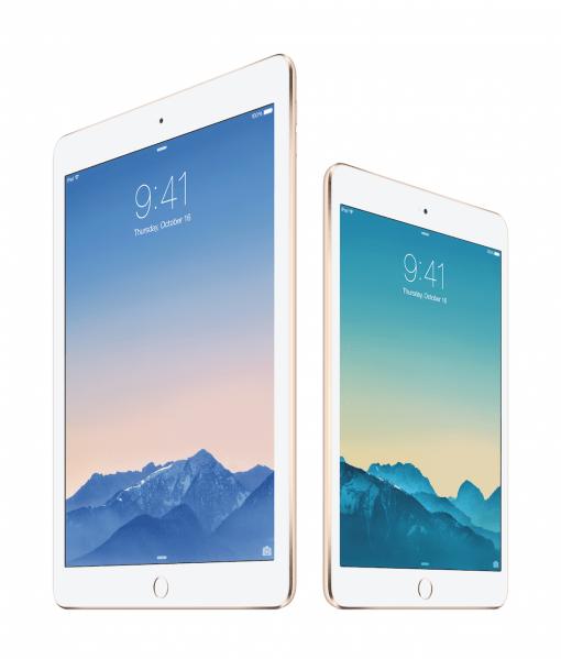 iPad mini iPad Air