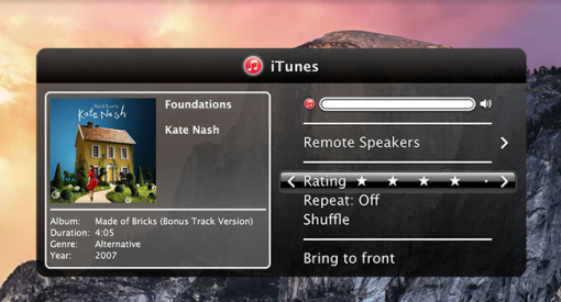 Remote Buddy iTunes