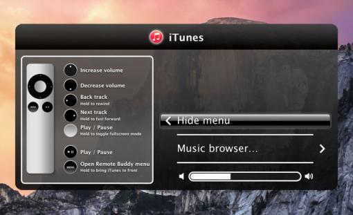 Remote Buddy Mac fernsteuern