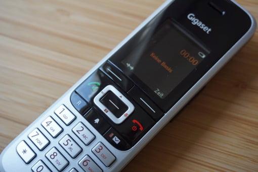 Gigaset S850A GO IP Voip Telefon Tasten