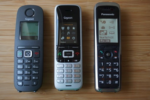 Gigaset S850A GO C540 CAT Panasonic KX-TGP500
