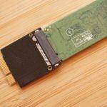 Adapter für M.2 SATA SSD MacBook Air