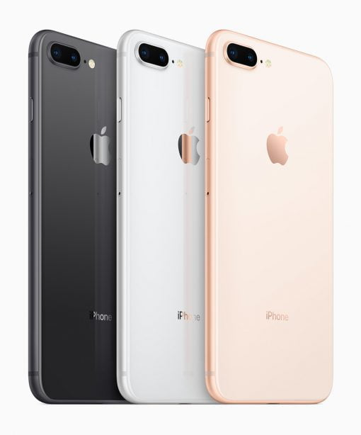 iPhone8Plus color selection