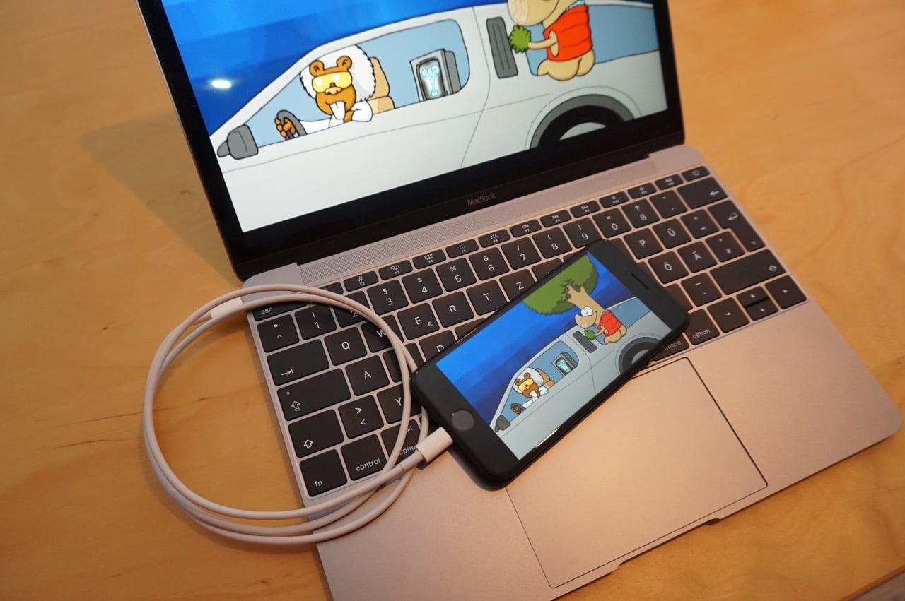 iPhone spiegeln auf MacBook