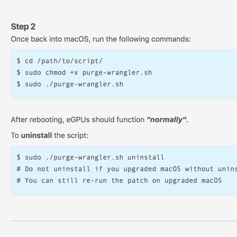 eGPU.io Community ermöglicht externe Grafik mit TB 1 und 2