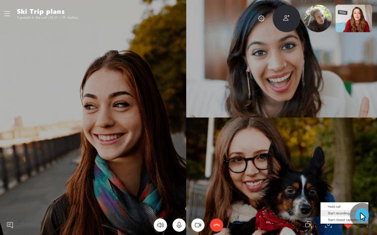 Skype erlaubt nun die Aufnahme von Videotelefonaten