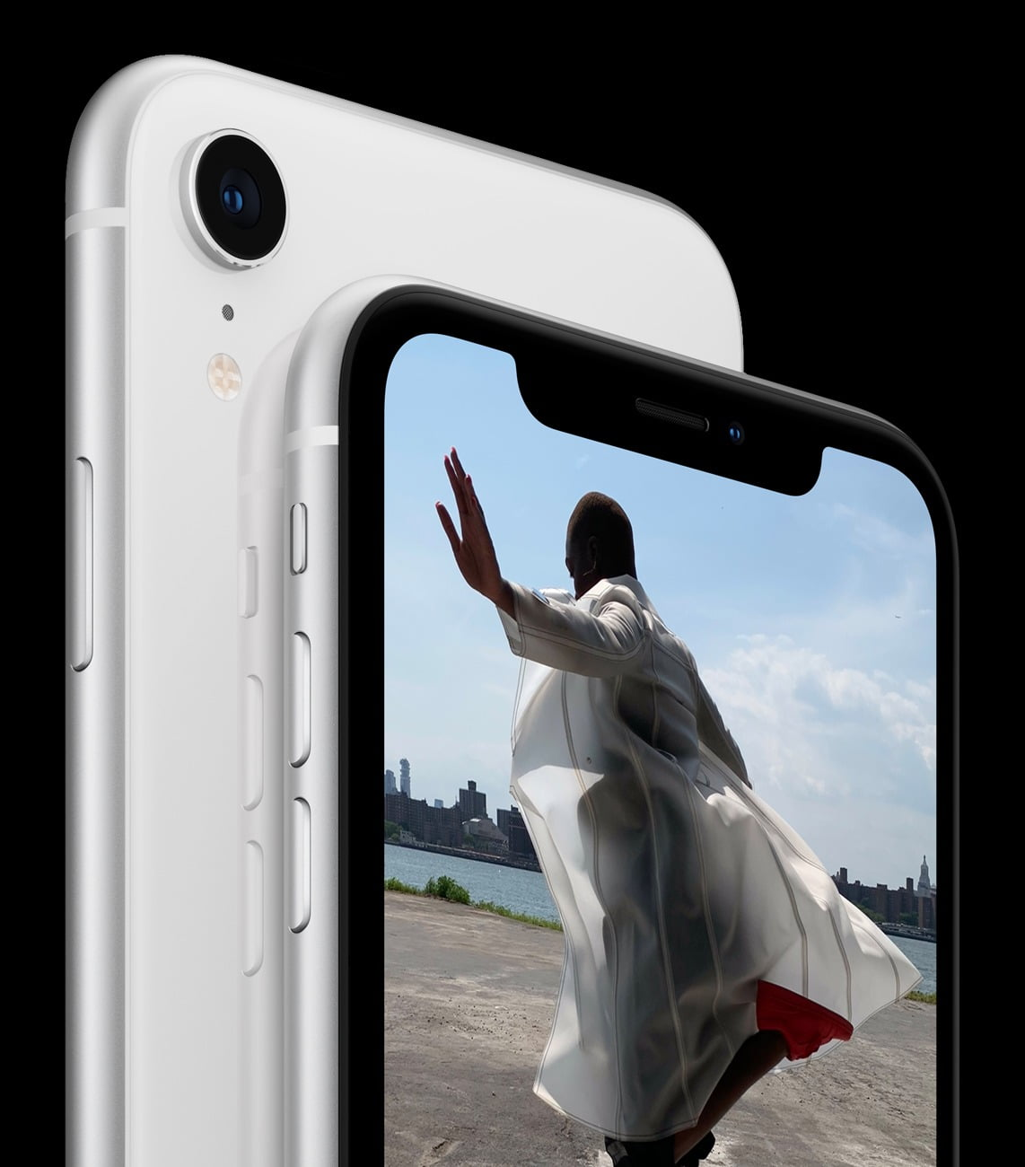 iPhone XR double back White 09122018