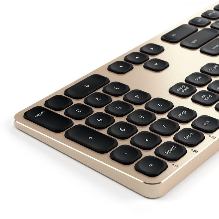 Alternative: Satechi Mac Aluminium Tastaturen mit Bluetooth oder Kabel