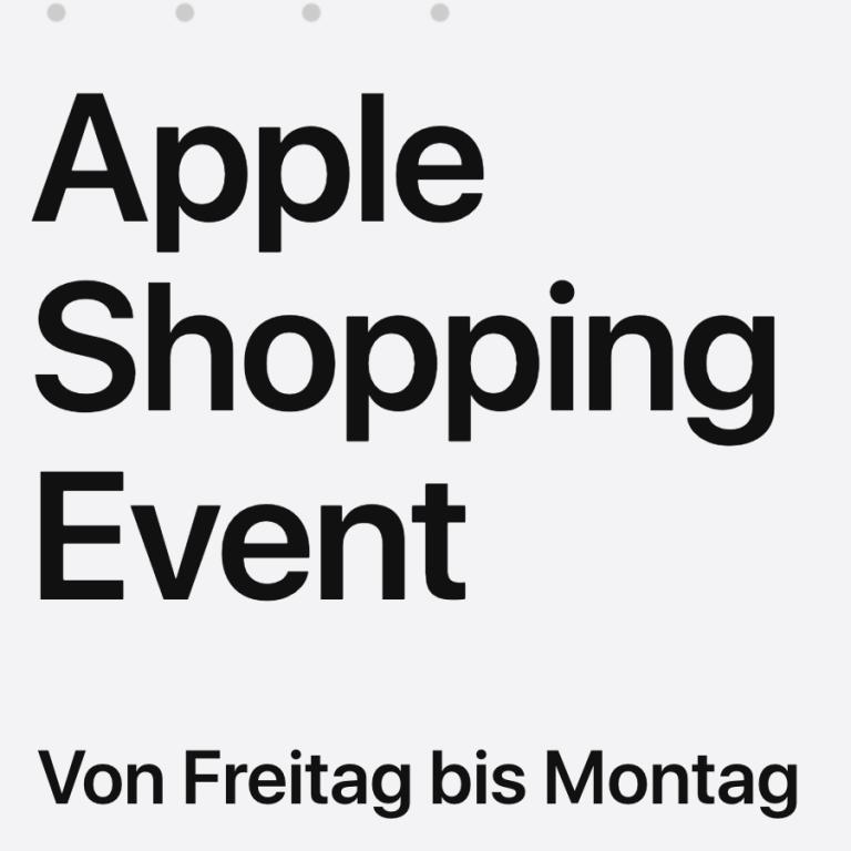 Apple Angebote: Es gibt Gutscheine zu Apple Geräten