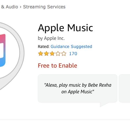 Apple Music Streaming nun auch auf Amazon Geräten verfügbar – in den USA