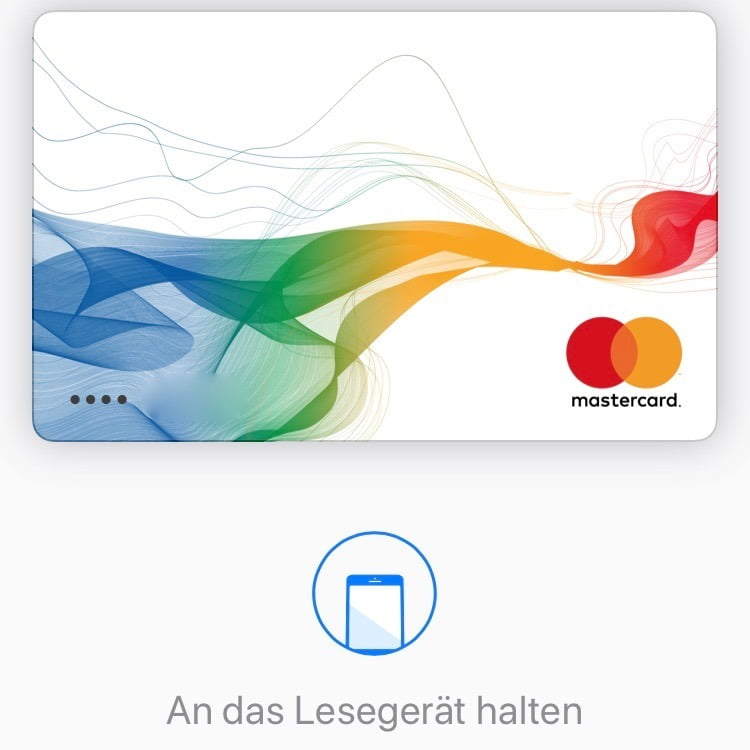 Wie man das iPhone an der Kasse für Apple Pay zum Zahlen nutzt
