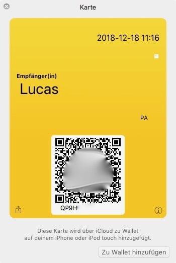 Super einfach: DHL Pakete frankieren mit QR-Code im iPhone Wallet