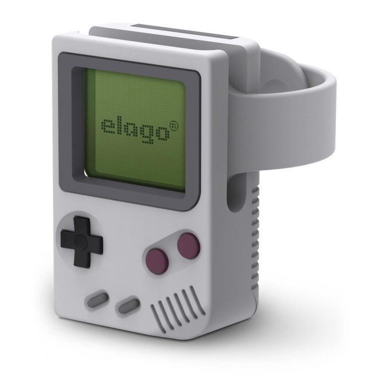 Elago W5 Stand für die Apple Watch sieht aus wie ein GameBoy
