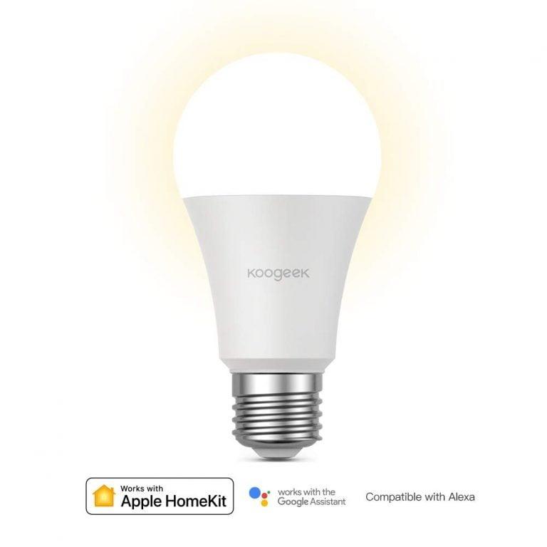 Neue WLAN LED-Lampe von Koogeek mit HomeKit Kompatibilität