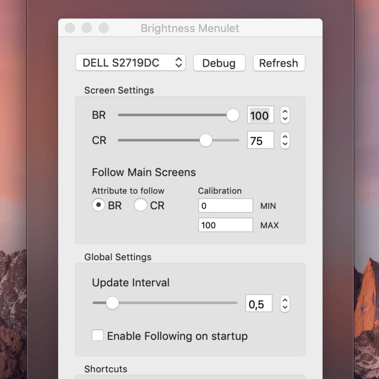 macOS: Bei einem externen Monitor die Helligkeit steuern