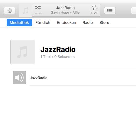 jazzradio itunes