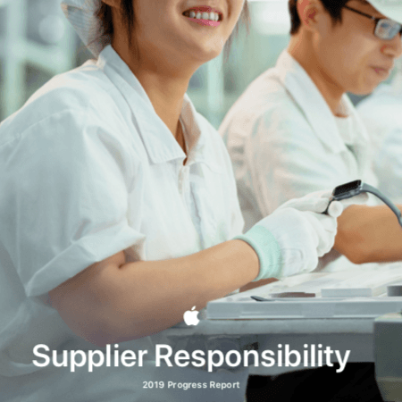 supplier responsibility apple 2019