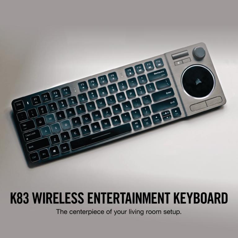 Corsair K83 Bluetooth Tastatur für den Smart TV