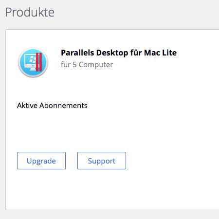 parallels for mac lite kündigen