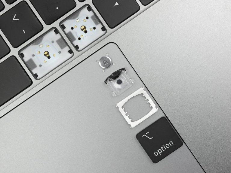 Vierte Generation des MacBook Butterfly Keyboards aus neuem Material