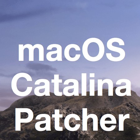 macos 10.15 catalina patcher