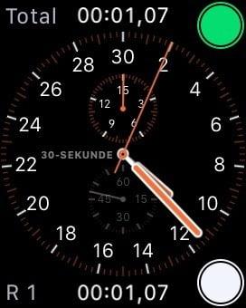 Aufgepasst: Apple Watch Stoppuhr zeigt Zeit fehlerhaft an