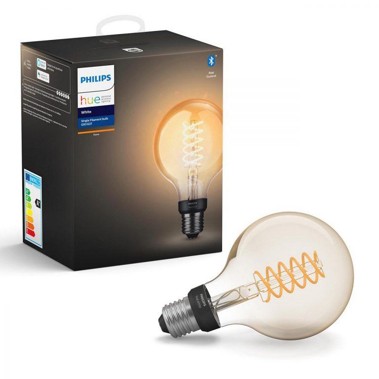 Philips Hue HomeKit Glühlampen jetzt auch im Filament Stil