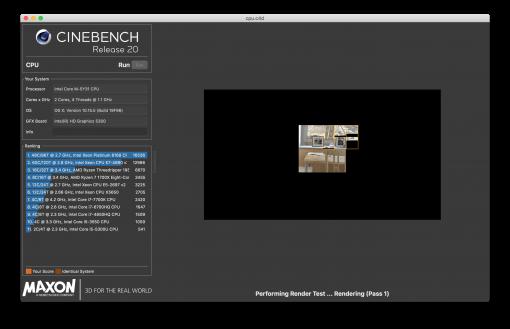 Cinebench Gpu Benchmark
