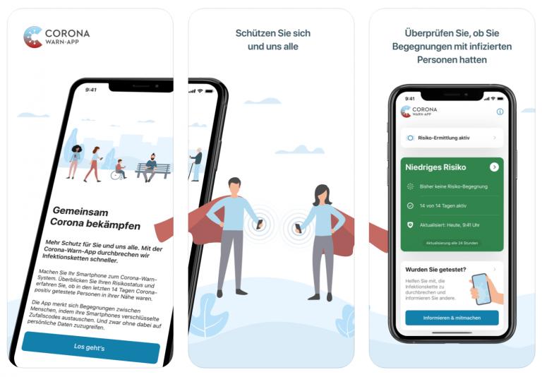 Corona Warn App nun für ältere iPhone Modelle erhältlich
