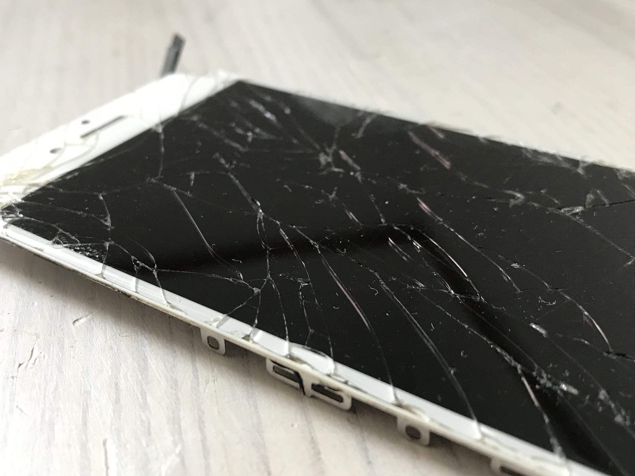 Iphone Display Shattered