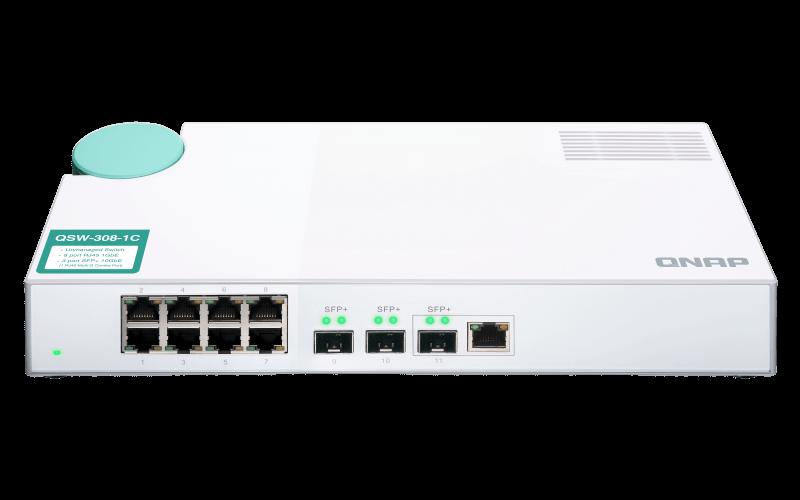 Qnap QSW 308 1C 10 Gbit Switch