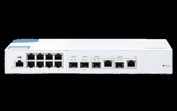 Qnap QSW M408 2C 10 Gbit Switch RJ45 SFP