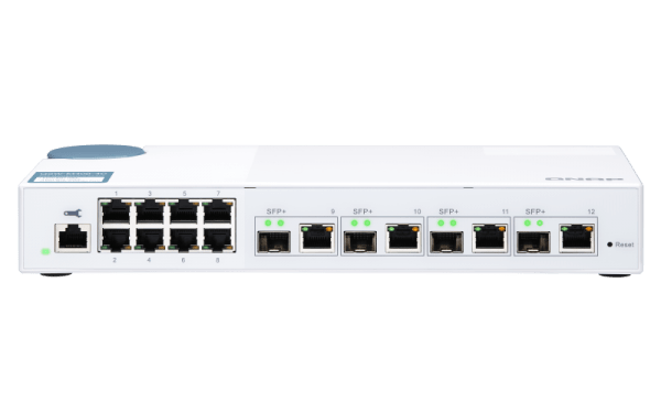 Qnap QSW M408 4C 10 Gbit Switch RJ45 SFP Mac