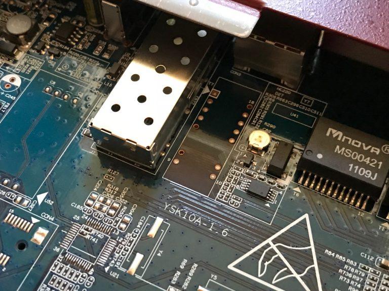 Alte Firewall als modernen Switch weiternutzen: Bintec RS120