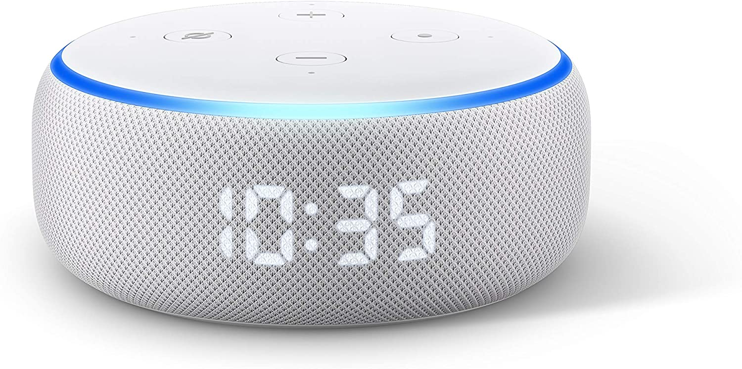 Echo Dot 3. Generation Uhr