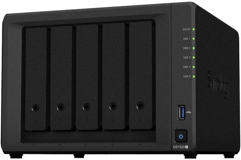 Neues Synology 5-Bay-Modell: DS1520+