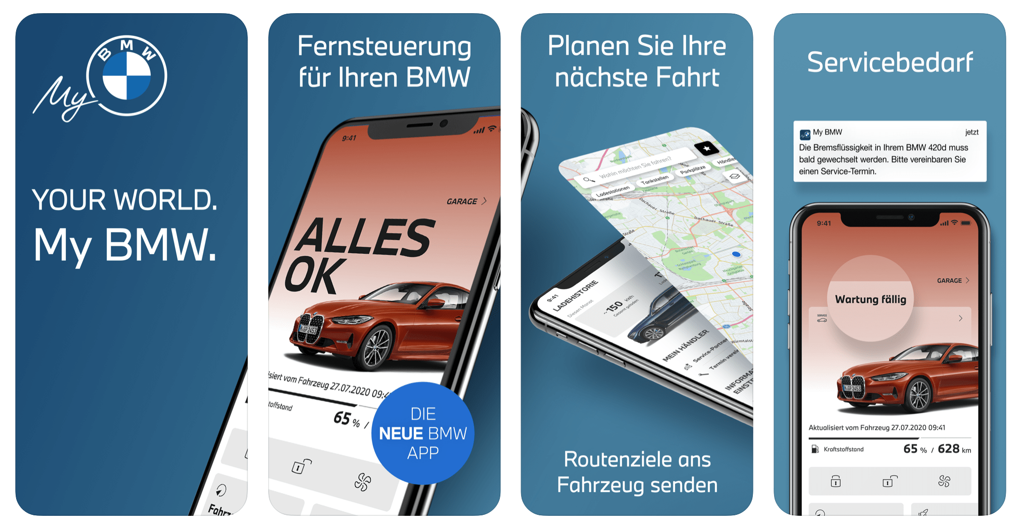 new my BMW App