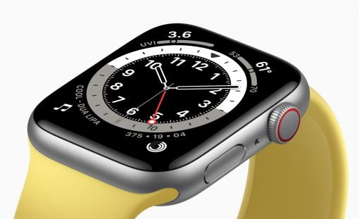 Apple Watch SE yellow Band