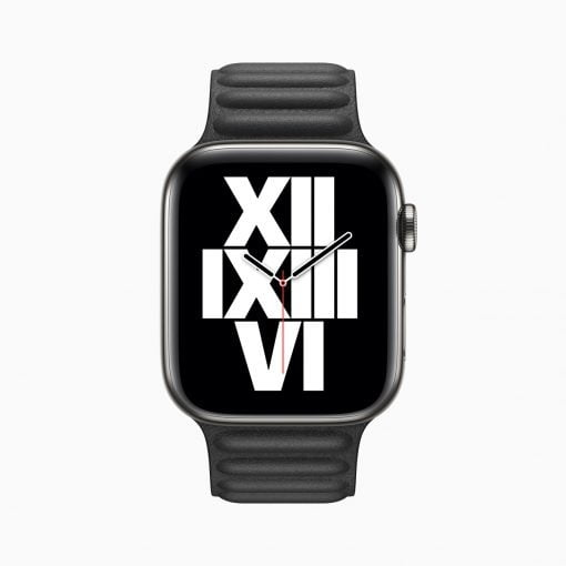 Apple Watch Series 6 Typograph Watchface