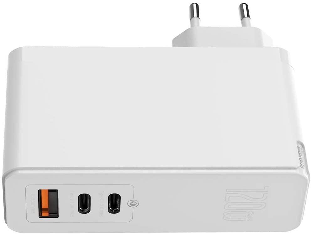 Baseus Ladgerät USB C Dual 120 Watt