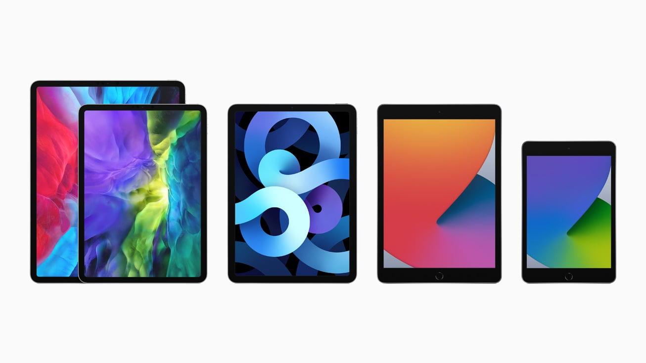 Complete iPad Lineup